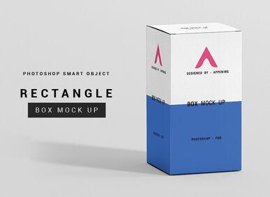 FREE 6 Photoshop Rectangle Box Mockup