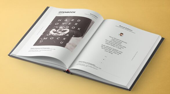 Psd Dust Jacket Book Mockup Vol3