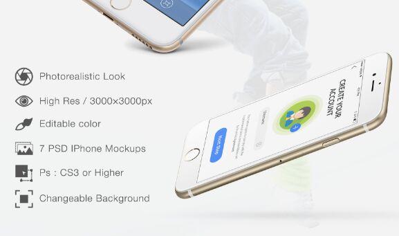 IPhone Free Mockups PSD