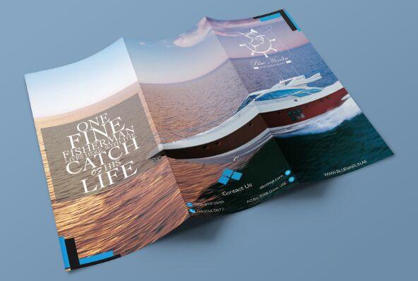 Free Tri Fold Brochure Mockup PSD