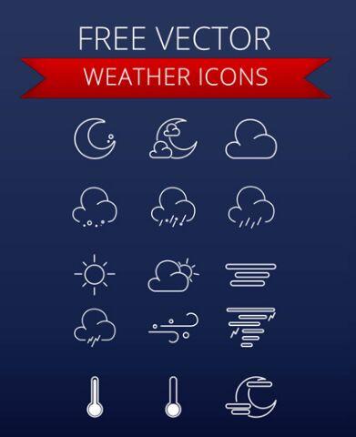 Weather Icons UI