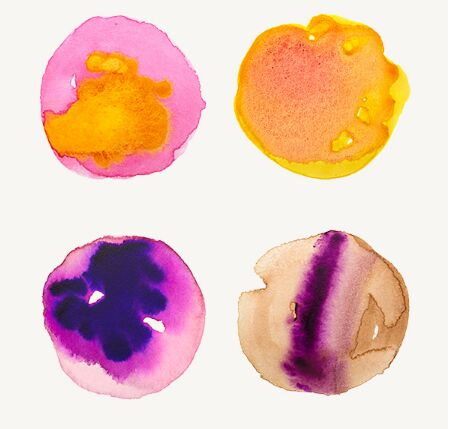 10 Watercolor Textures Vol.5