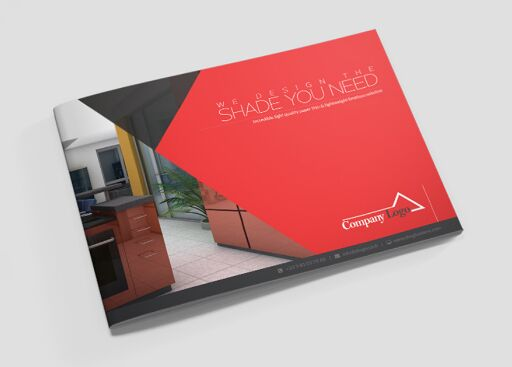 Corporate landscape brochure