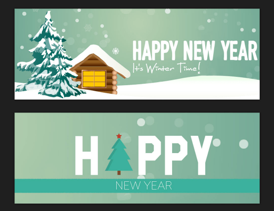 6 Free New Year Facebook Timeline Cover Template