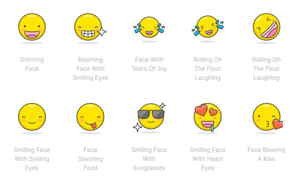 780+ Free Vector Emoji