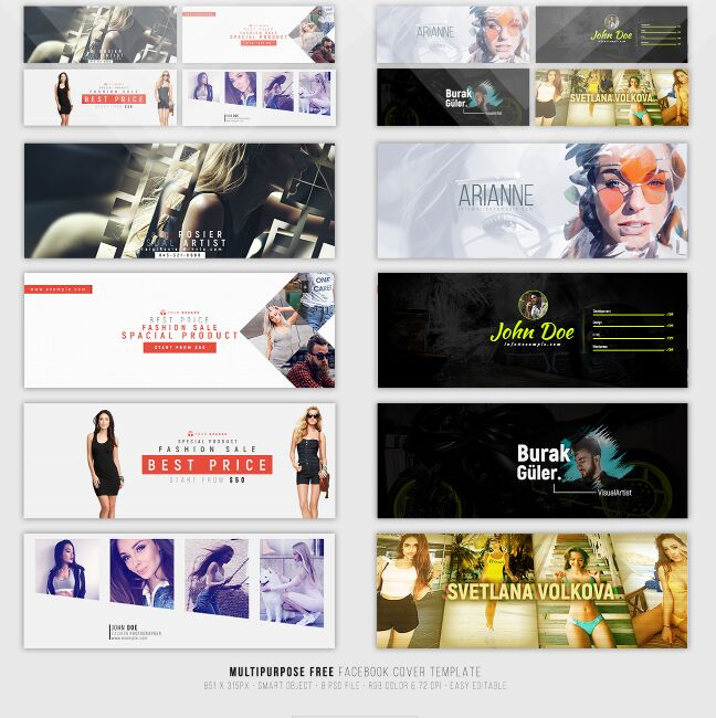 15+ Best Free Facebook Cover Photoshop Templates For 2017 - 365 ...