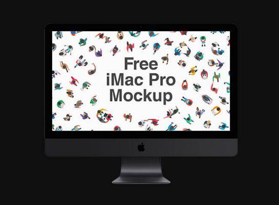 IMac Pro Mockup PSD Vol. 1