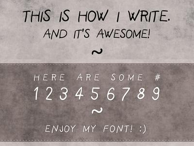 SarmaFont Free Chalk Font