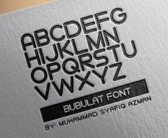 Bubulat Font Free Download