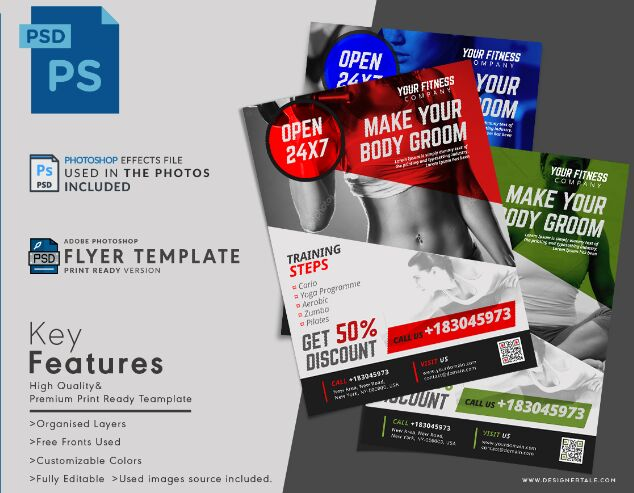 Weight Loss Plan Promotional Flyer