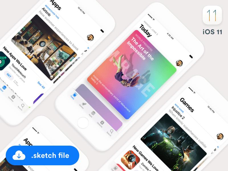 15 Full Free iOS GUI Kits For App Designers (2019 Update