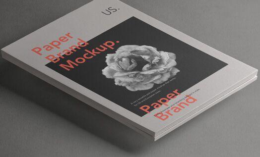 Psd Paper Brand Mockup Vol2