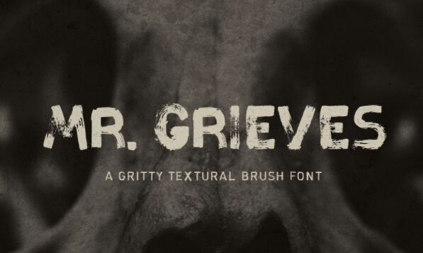 MR. GRIEVES Free Typeface