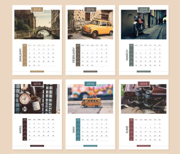 Calendar Design For Website : Calendar design templates choice image template ideas