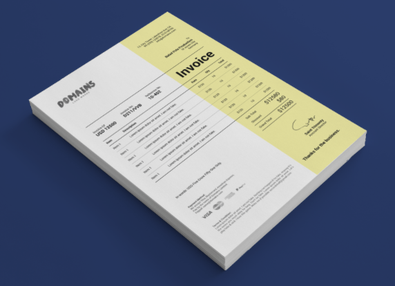15 Best Free Invoice Templates For Graphic Designers 2018 Edition