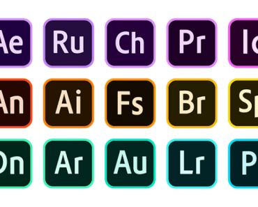 Adobe CC 2020 Vector Icons