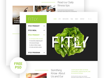 Fitly Landing page