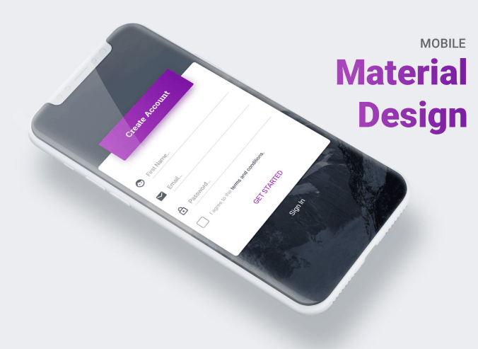Mobile Material Design For Sketch-min