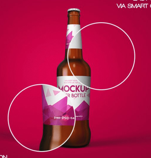 FREE BEER BOTTLE MOCK-UP
