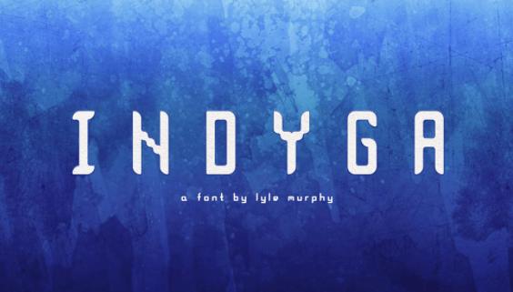 Indyga (Free Font)