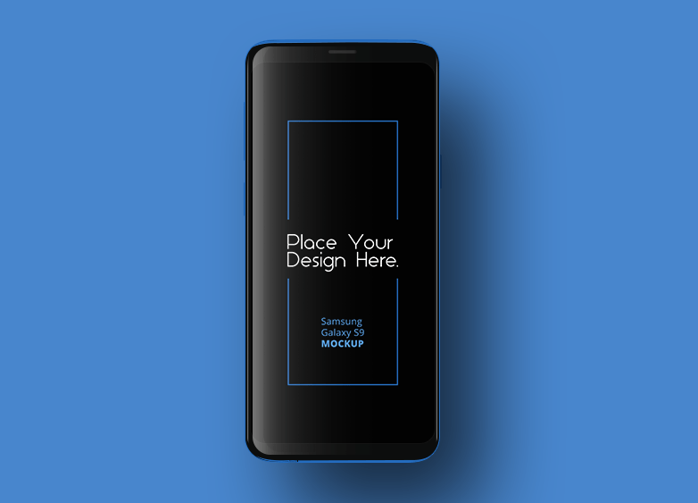 Dark Samsung Galaxy S9