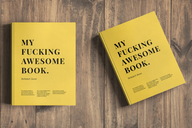 Best Book Cover Mockup : Best book mockups templates for free download