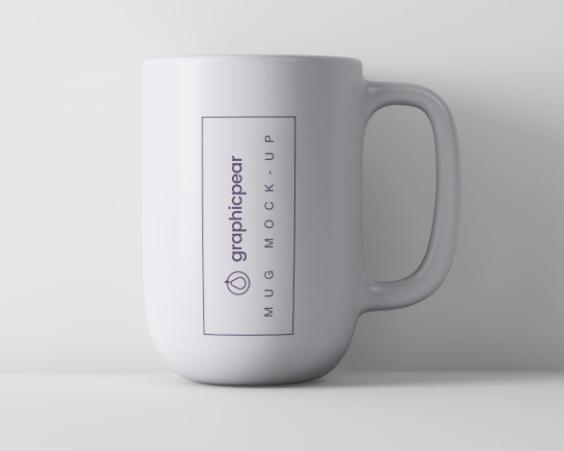 Minimal Coffee Mug Mockup PSD