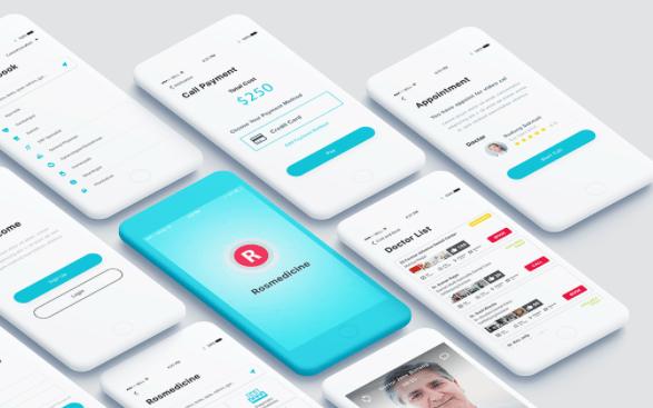 Telemedicine App UI Kit