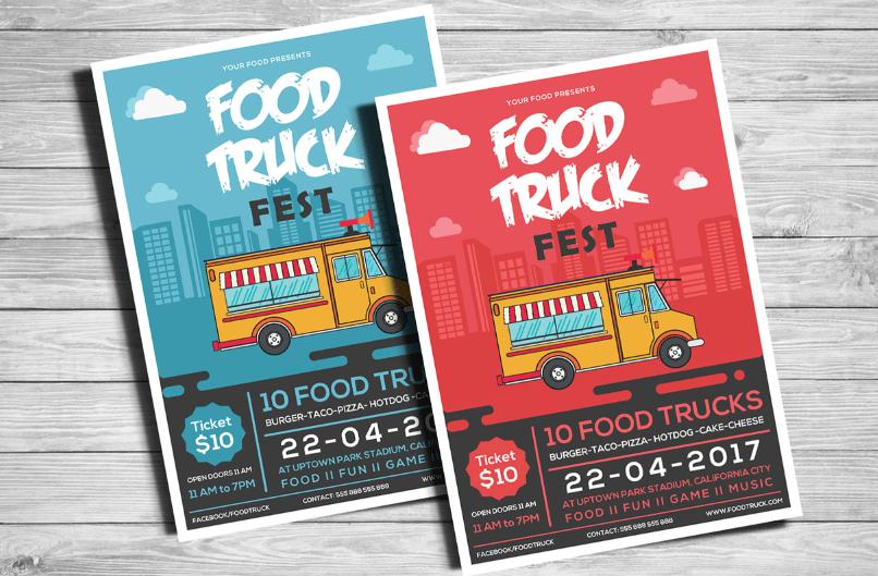 Food Truck Flyer-min