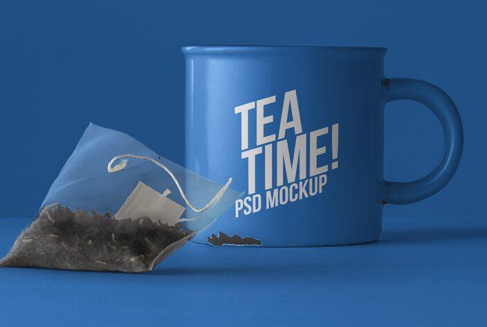 Psd Tea Mug Mockup-min