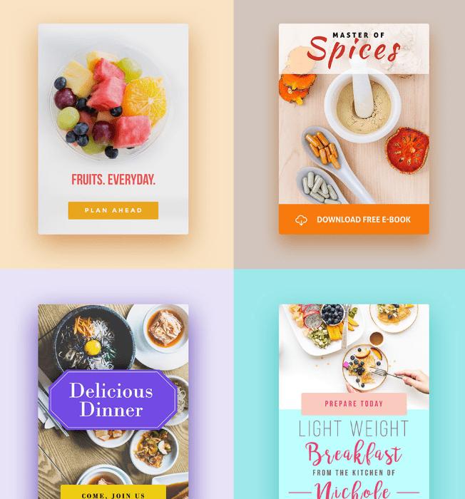 10 Food Blog Banner Graphics