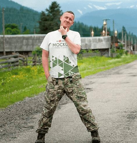 2 FREE MAN T-SHIRT MOCK-UPS IN PSD-min