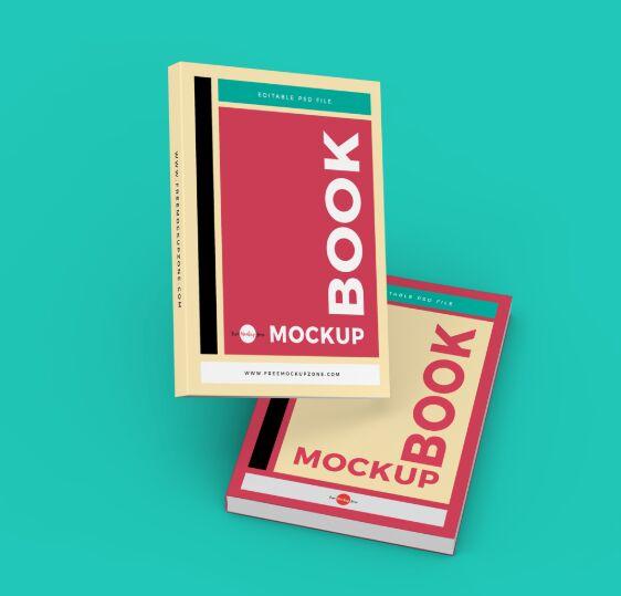Free Branding Books Mockup PSD-min