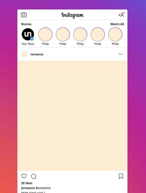 Free Instagram Post Mockup (PSD)-min