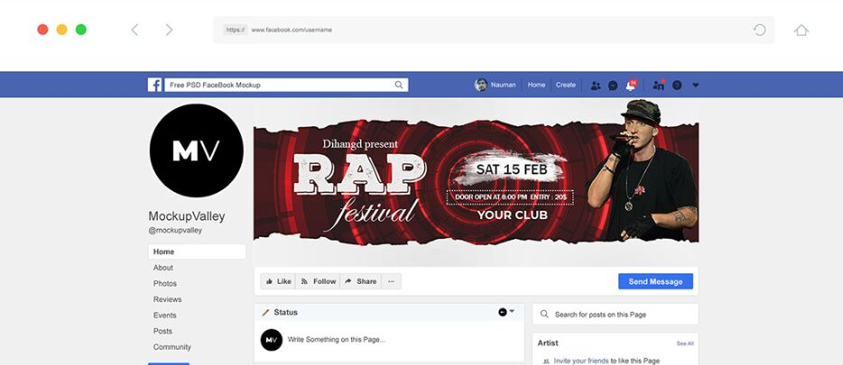 Free Facebook Cover Design