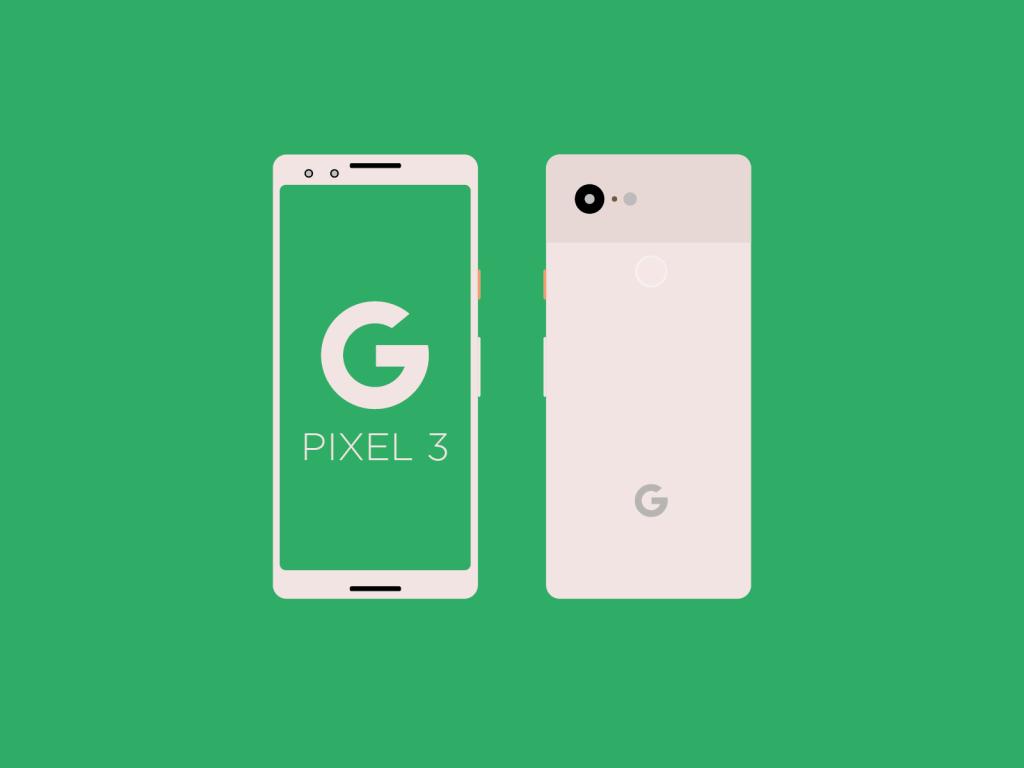 Google Pixel 3 AI Mockup
