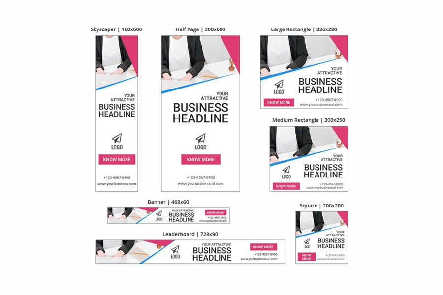 Business Banner – SEA Ad Templates