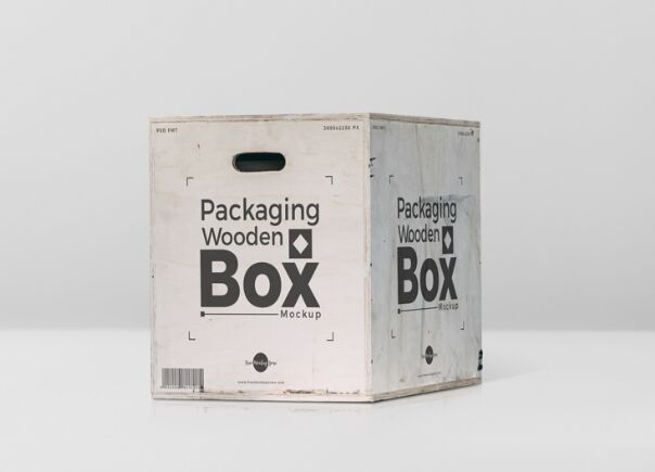 Free 40+ Best Packaging Mockups Free Packaging Wooden Box Mockup PSD