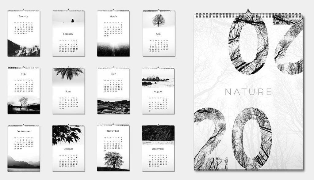 Minimal Calendar 2020 PDF