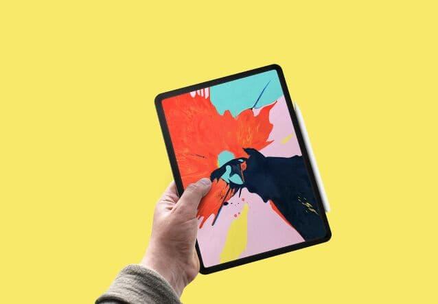 iPad Pro PSD Mockup