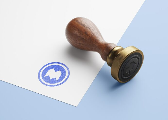 Another Wooden Stamp Mockup