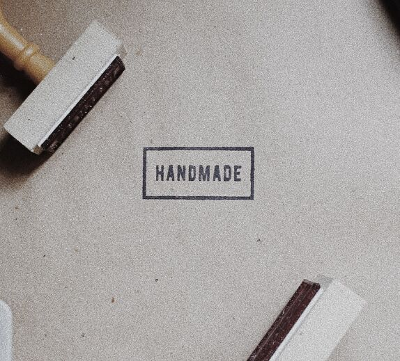 Free Handmade Stamp Mockup