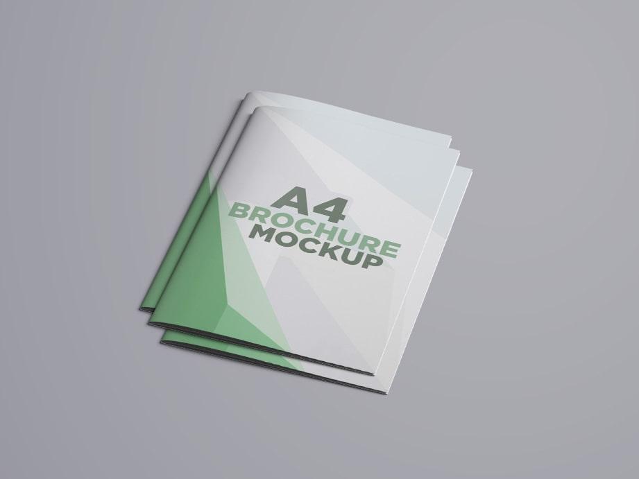 A4 Brochures Mockup