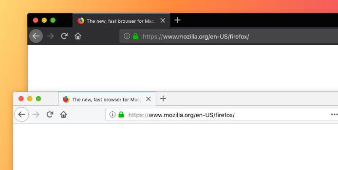 Firefox Browser Mockup Sketch Template