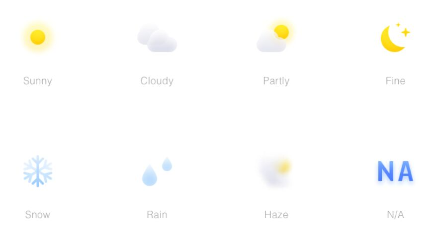 8 Sketch Weather Icons