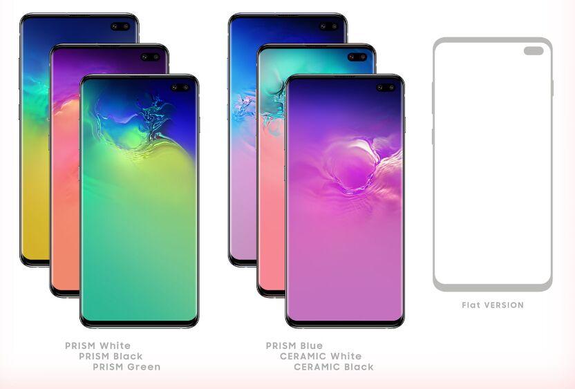 Free Samsung Galaxy S10+ (Plus) Mockup PSD & Vector Ai