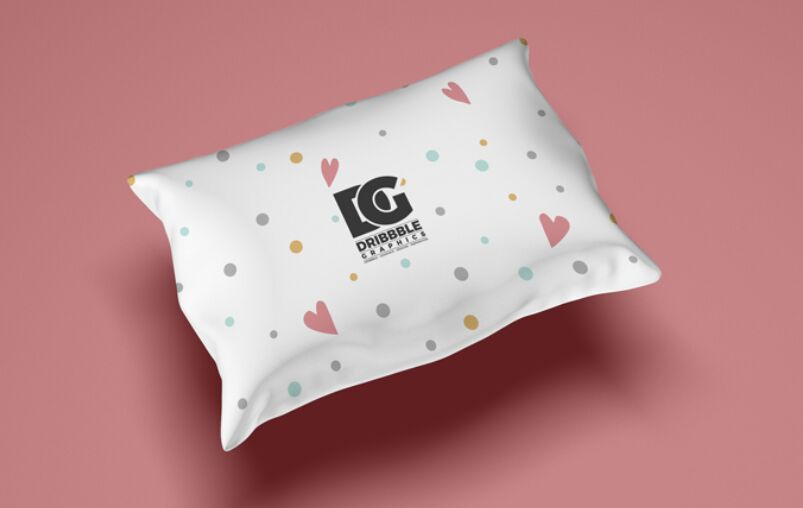 Free Pillow Mockup For Textile Branding