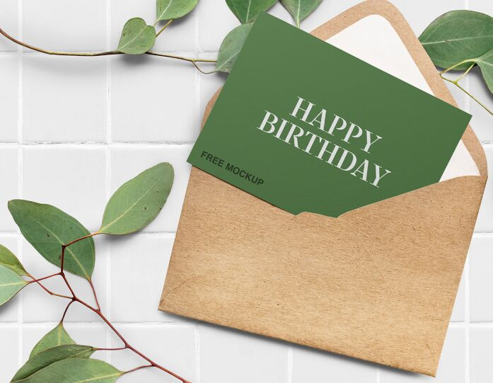 35 Best Free Greeting Invitation Card Mockups For Graphic