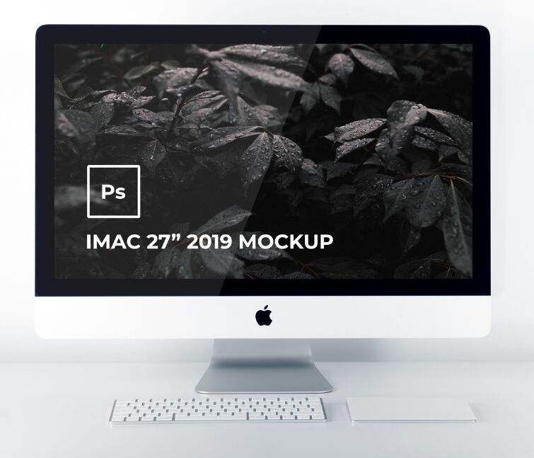 iMac 27 2019 Mockup