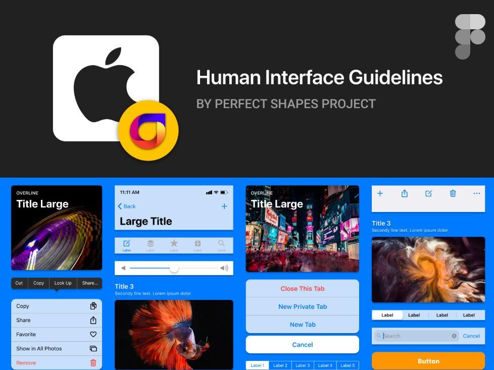 Free iOS Kit For Figma